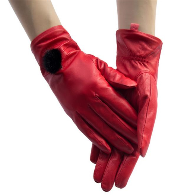 Fashionable Gloves for Ladies, Made of Soft Goat Skin