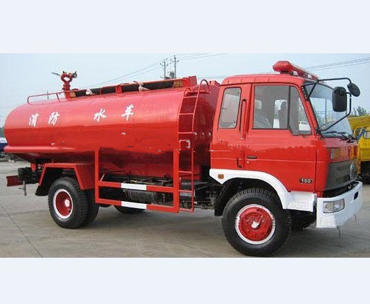 road water tank fire fighting truck  4x4 EQ5108G 8ton fire truck for sale