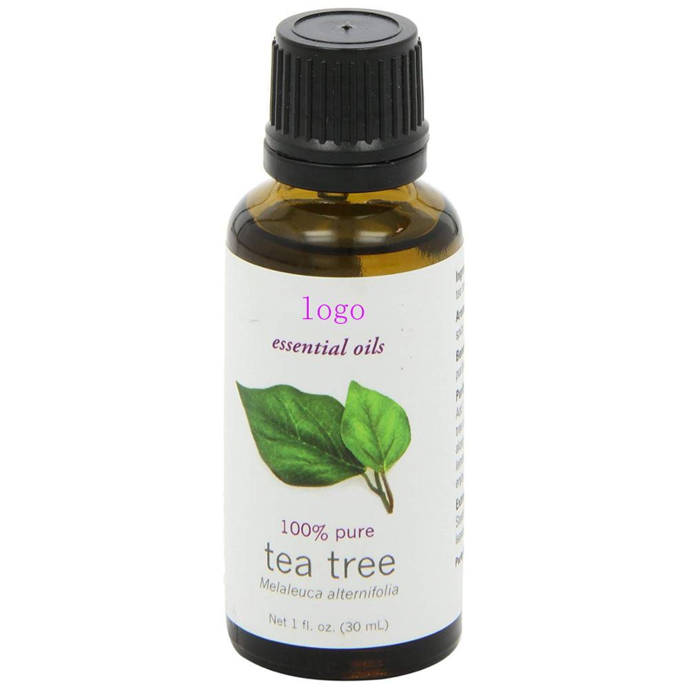 Private label wholesaleb OEM custom 100 pure natural organic tea tree essential oil for sale