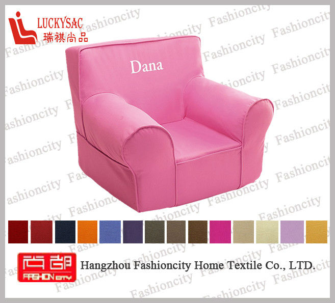 Sofa Kids Waterproof Sectional Children Single Mini Foam Sofas OEM ODM is Welcome White Dots Pink Background Custom Your Brand for sale