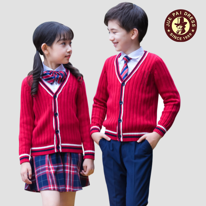 Boys and girls kindergarten school uniform school uniform children's class uniforms for children for sale