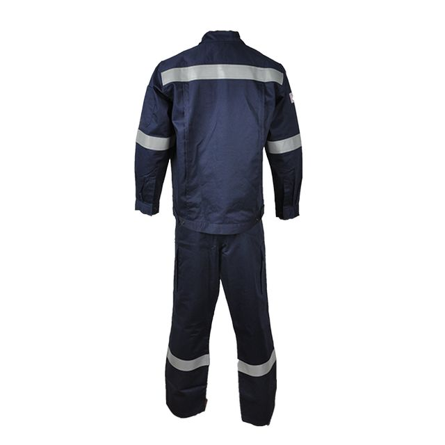 Xinke fire resistant reflective safety suit work wear clothes security uniform for men
