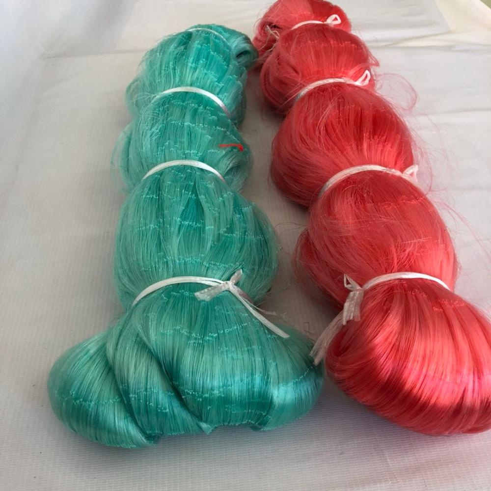 high strength shiny and soft nylon fishing net for sale