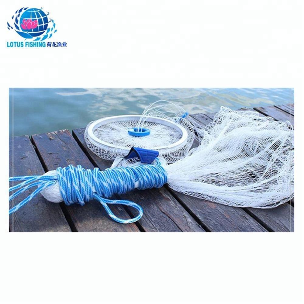 nylon pe cast net fishing net suppliers for sale