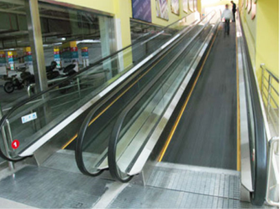 12 Degree Heavy-Duty Passenger Conveyor Moving Walk For Sale