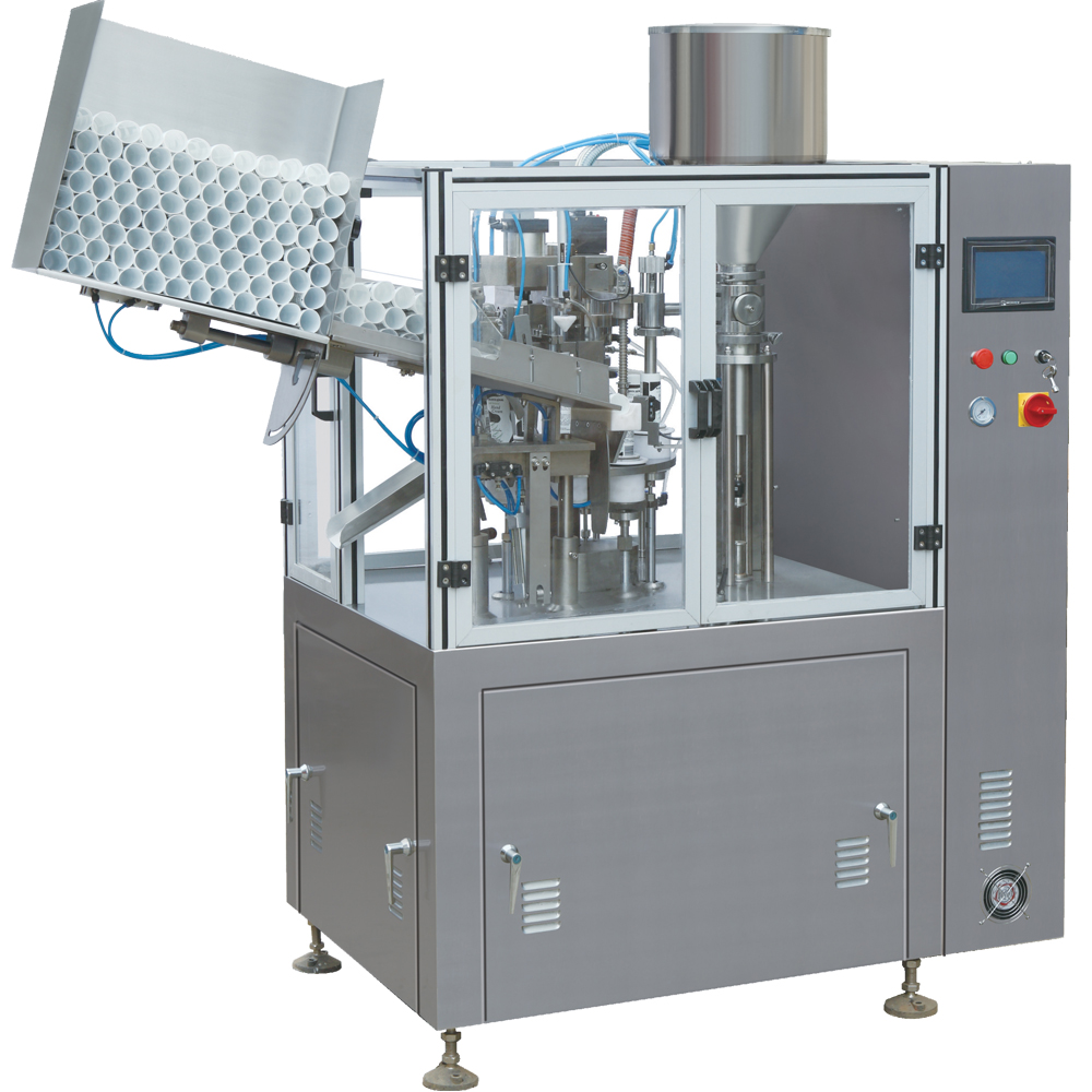 NF-60A Toothpaste Automatic Plastic Tube Filling and Sealing Machine for sale