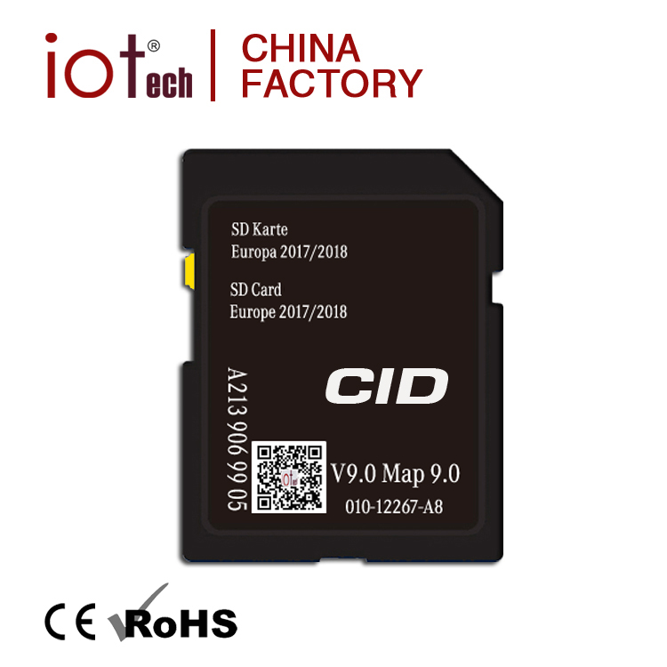 Bulk 16GB 32GB Custom CID SD Card for Navigation GPS, 64GB Memory SD Card Lock sale