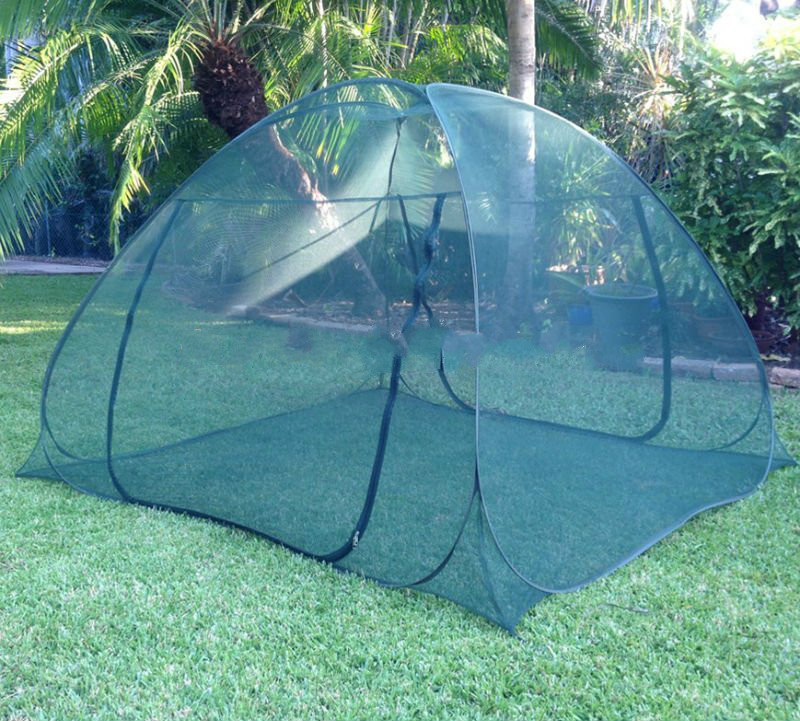 Outdoor camping tent mosquito net, hanging mosquito net, folded mosquito bed nets for slale