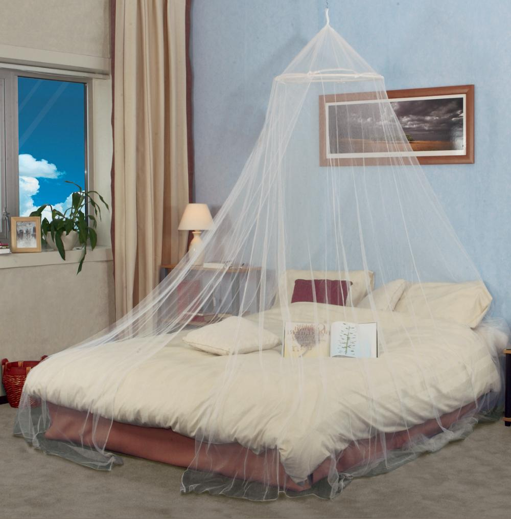 100%poly indoor mosquito net for double bed