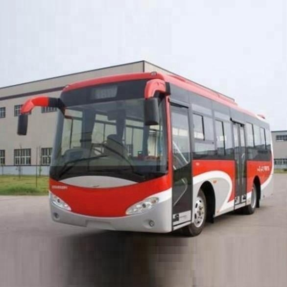 Dongfeng EQ6810HHG5 4X2 city bus with 25 seats for sale