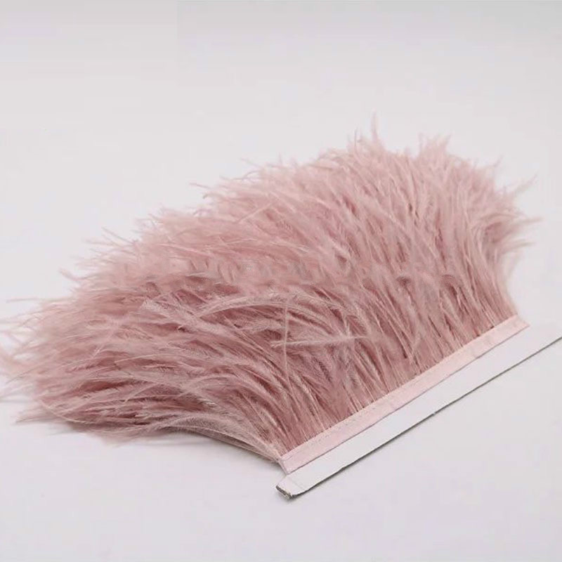 Cheap selling Ostrich Feather Fringe Trim for Garment for sale
