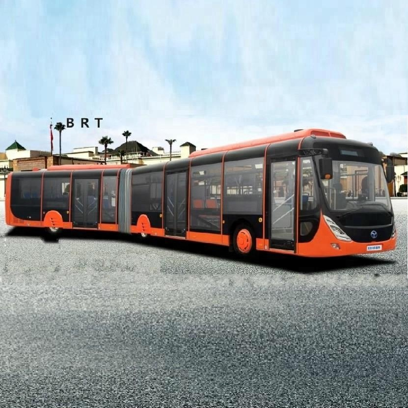 New Energy City Bus 18 Meters Electric Passenger Bus 50 Seats Pure Electric Bus for sale