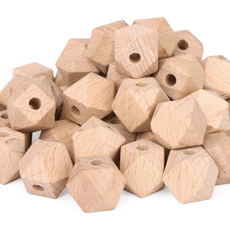 Eco-friendly Natural Wholesale Square Wooden Beads And Jewelry Making for sale