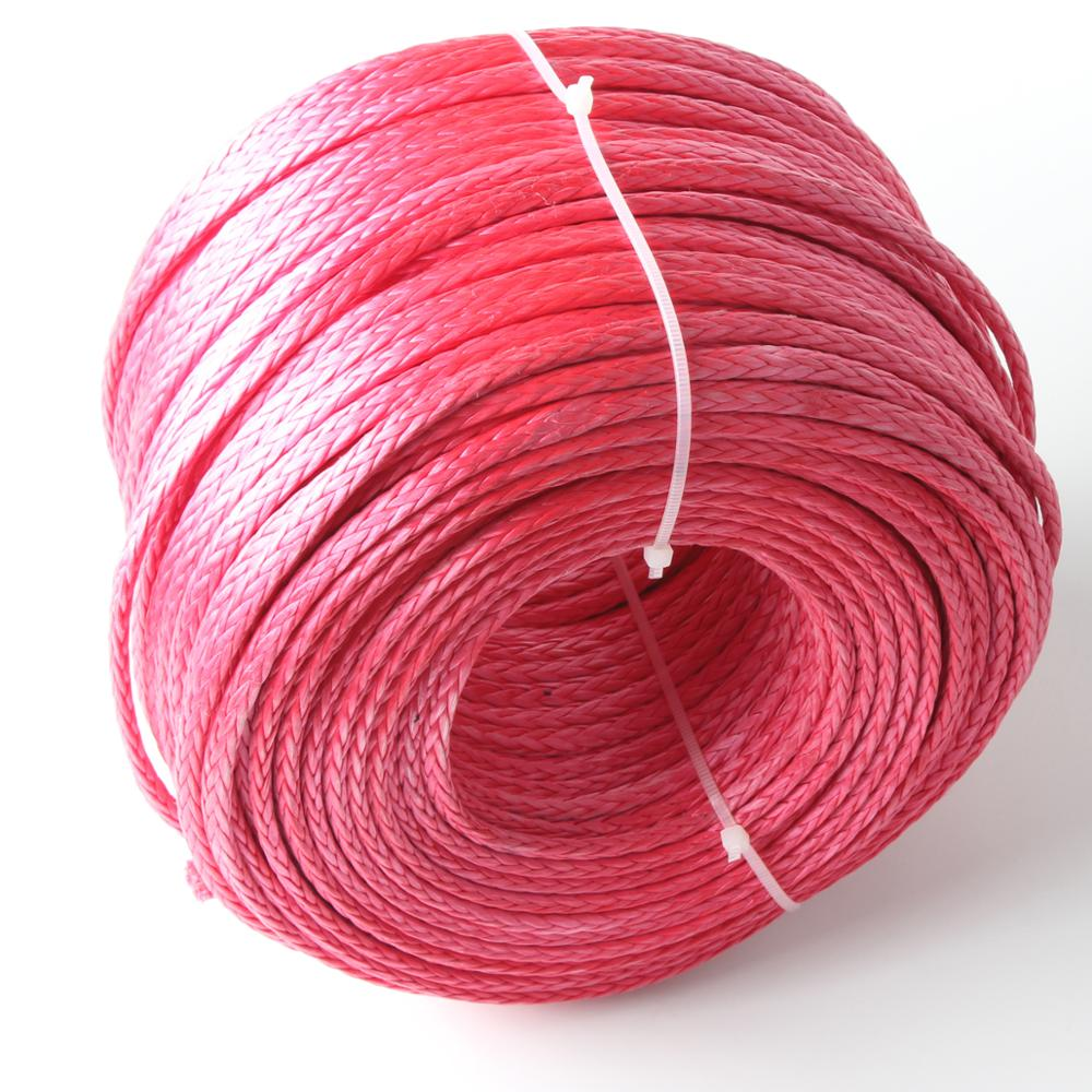 5mm uhmwpe fiber braided rope for sale