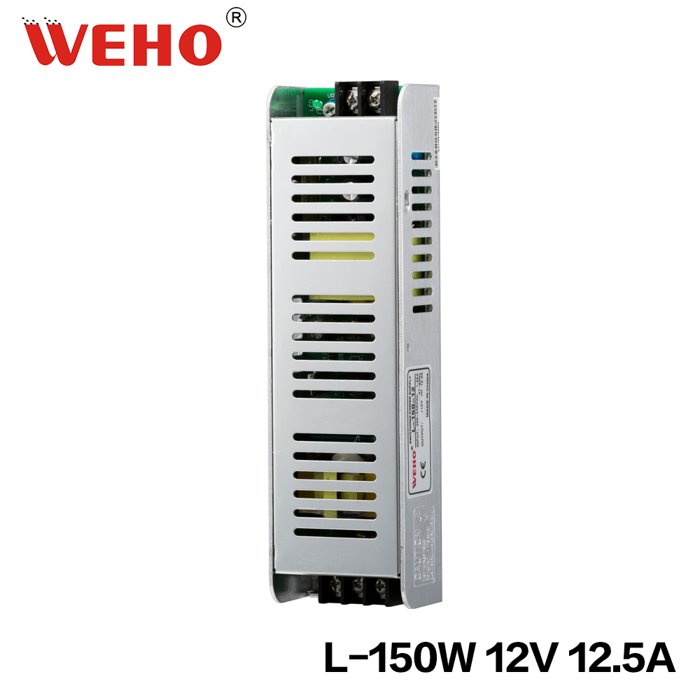 single output ac to dc 150w 12v led power supply for sell