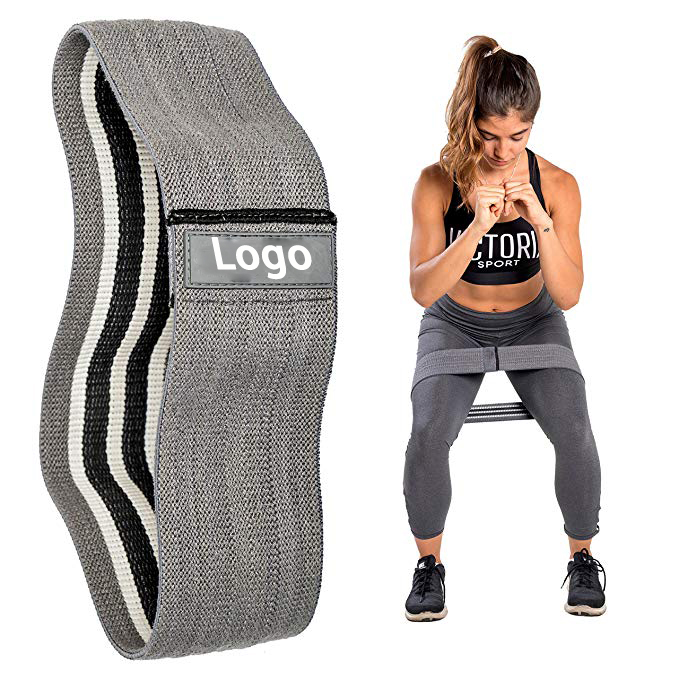 Resistance Exercise Weight Lifting Wrist Wrap Strength Hip Circle Band for sale