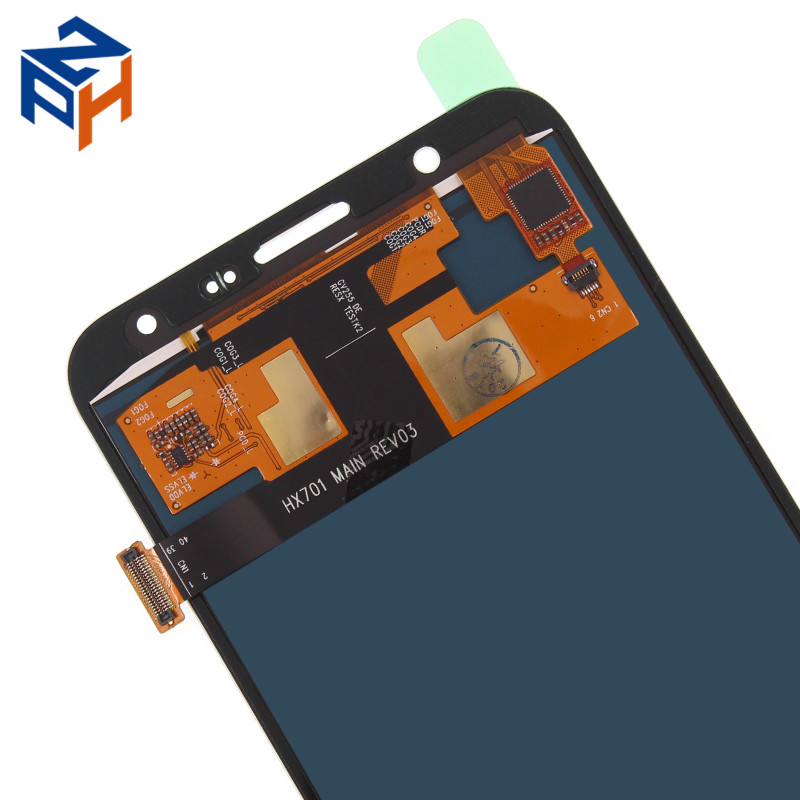 LCD Display Spare Parts Touch Screen Replacement LCD Screen For Samsung Galaxy J7 J700f J700m J700h 2015 Adjustable for sale