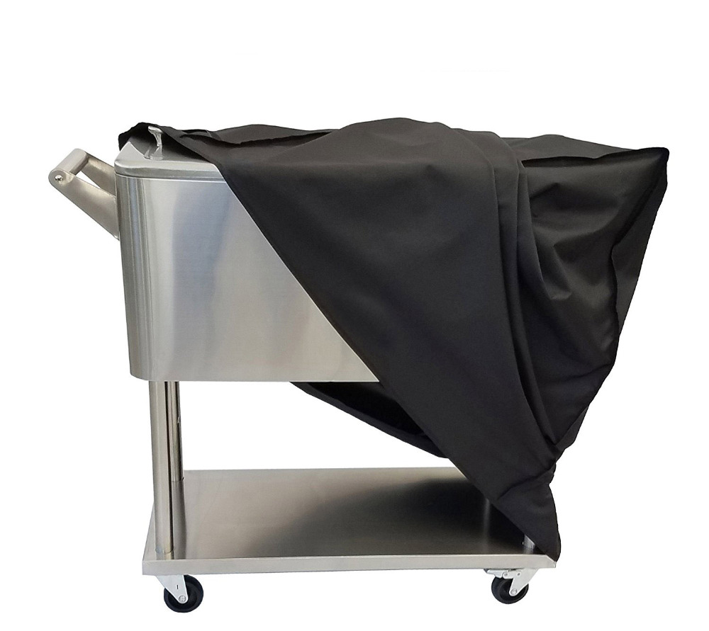 Cooler Cart Cover - Universal Fit For Most 80 QT Rolling Cooler