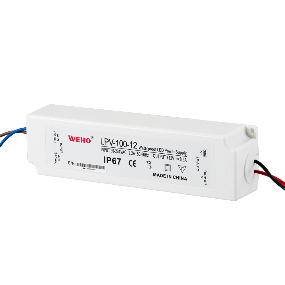 Plastic waterproof led driver 24v 20w led power supply for sell