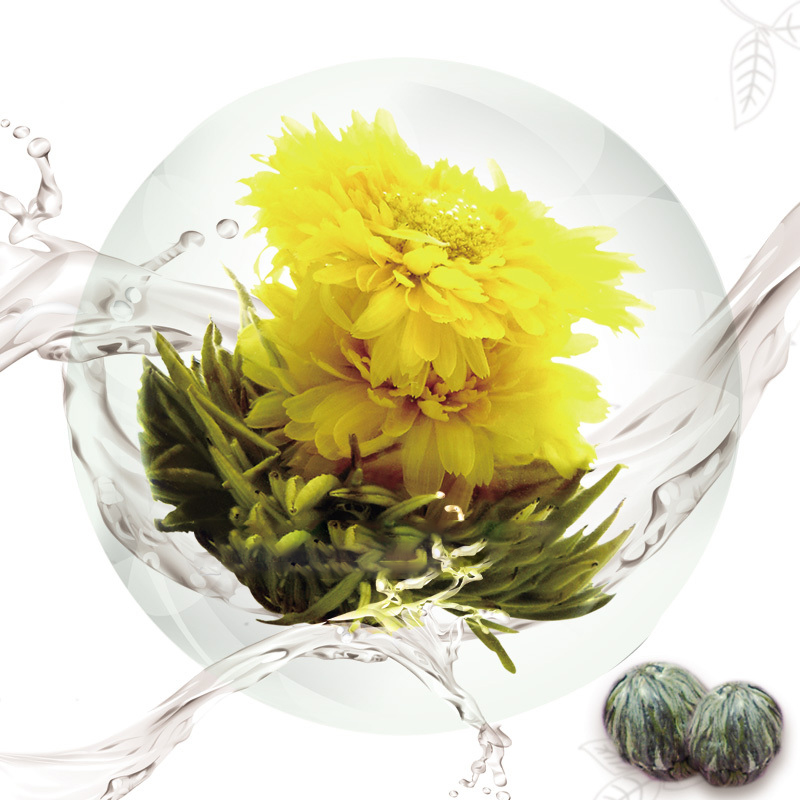 Buy calendula blooming tea with your private label for sale