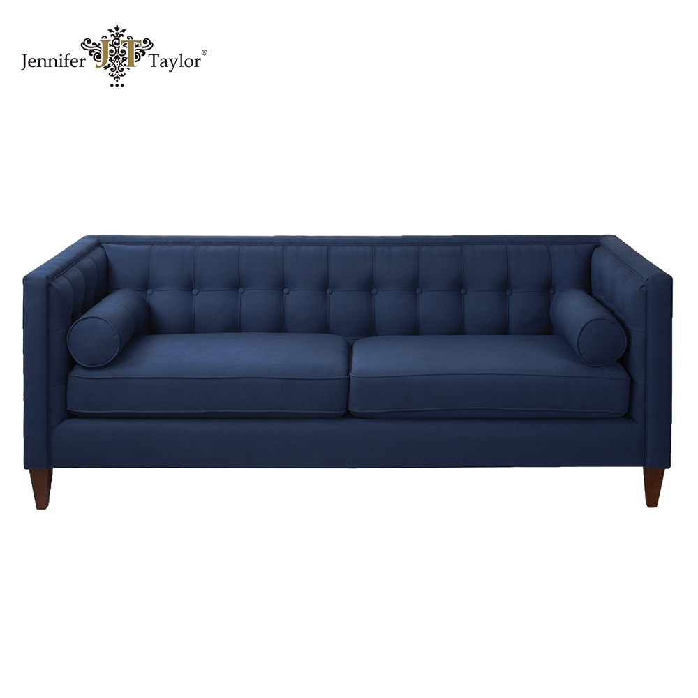 Home furniture factory direct sell one piece MOQ fabric upholstery sofa Sale