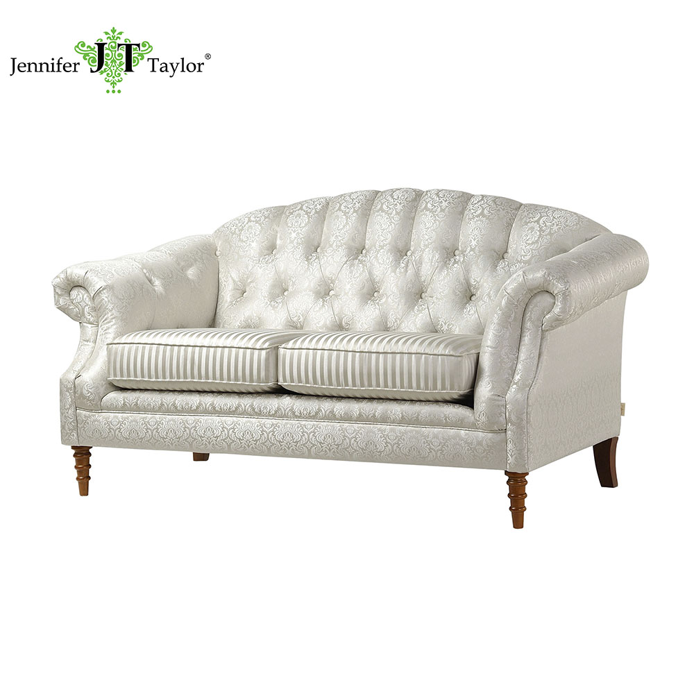 European country style classic living room furniture royal decorative chesterfield loveseat Sale