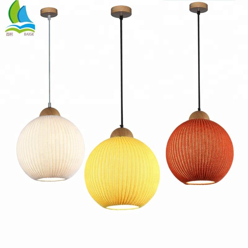 New Design Wool Knitting Modern Ceiling Pendant Lighting Lamp For Bar , Hotel , Home , Restaurant for sale