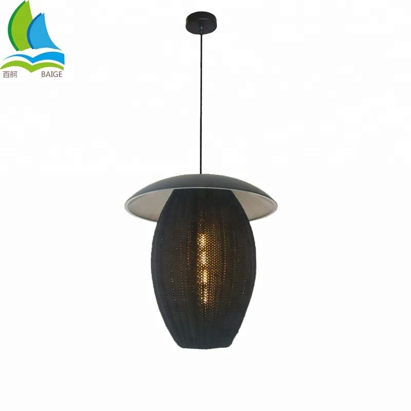 New Design Custom Wool Knitting Ceiling Lighting Lamp For Decor