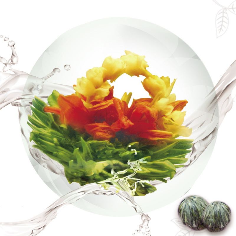 EU standard flowering tea balls for sale