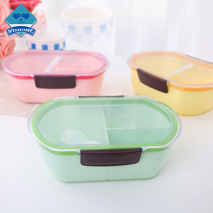 Wishome Brand Factory High Quality Practical Stocked Portioned Lunch Box sale