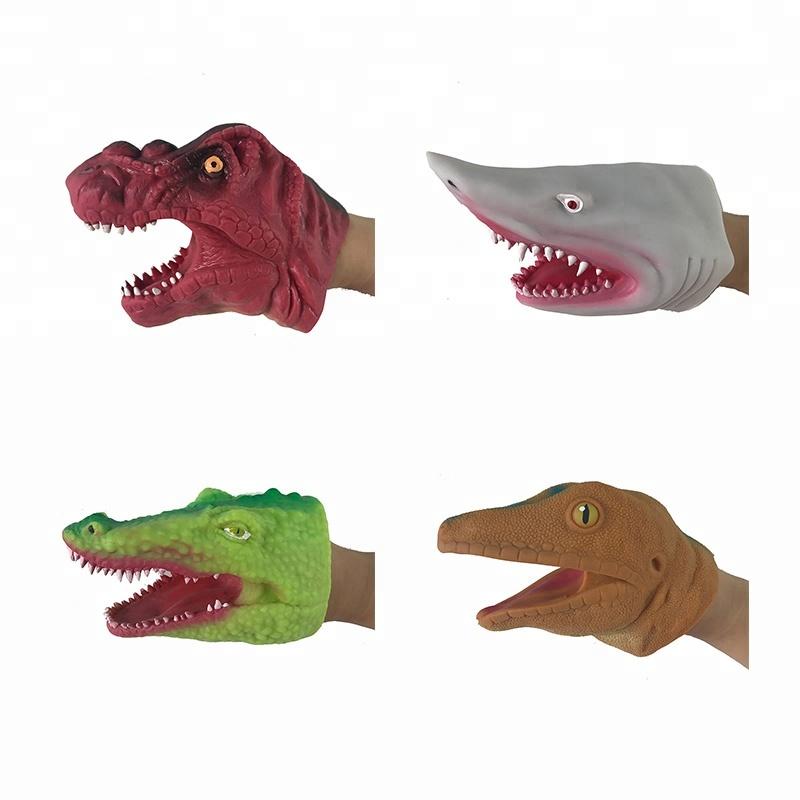 TPR Soft Animal Dino Hand Puppet sale