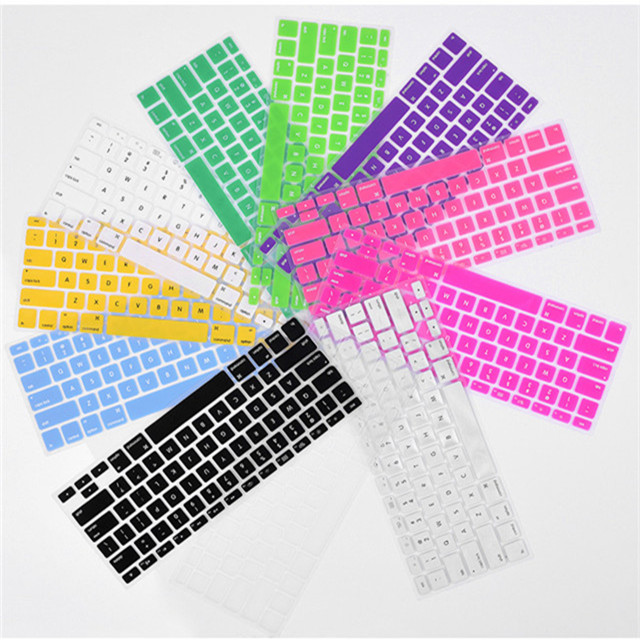 Hot selling best quality super cheap colorful keyboard covers for Macbook sale