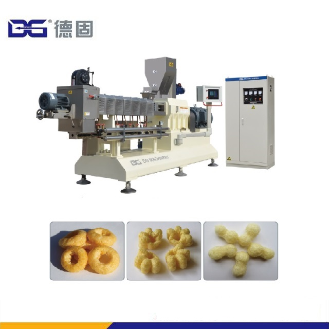 Jinan DG Automatic Twin Screw Extruder Production Equipment For Chocolate