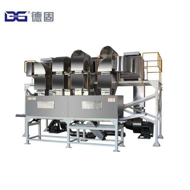 DG Chocolate Flake Maker Machine Brown Corn Flakes Extruding Equipment Manufacturer