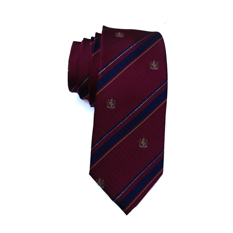 guangzhou natural rolled spider silk tie seven fold for sale