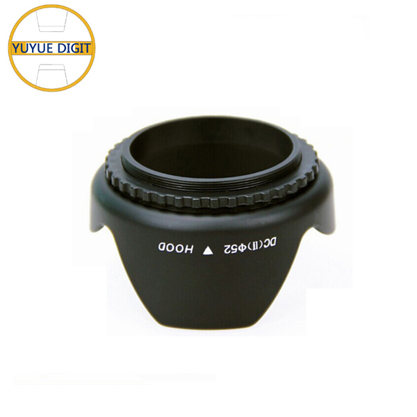 Plastic Tulip Flower 77mm Lens Hood For SLR Camera Photographic sale