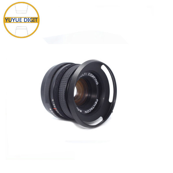 Customize metal Bayonet mount Lens Hood for camera sale