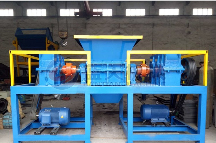 Automatic Waste Plastic Recycling Shredder Crusher / Plastic Crusher machine for sale