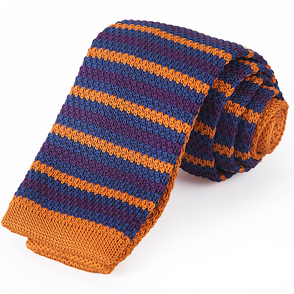 2018 Custom Design 100% Polyester Knitted Novelty Mens Neck Ties for sale