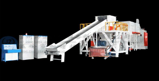 JZ-GCB500 high efficiency of large scale of waste PCB dry type recycling machine for sale