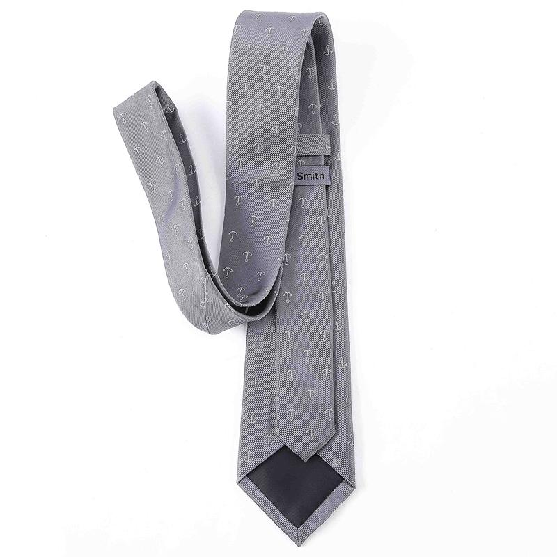 Arrow Pattern Modern 100% Silk Woven Necktie Men Modern Tie Accessories for sale