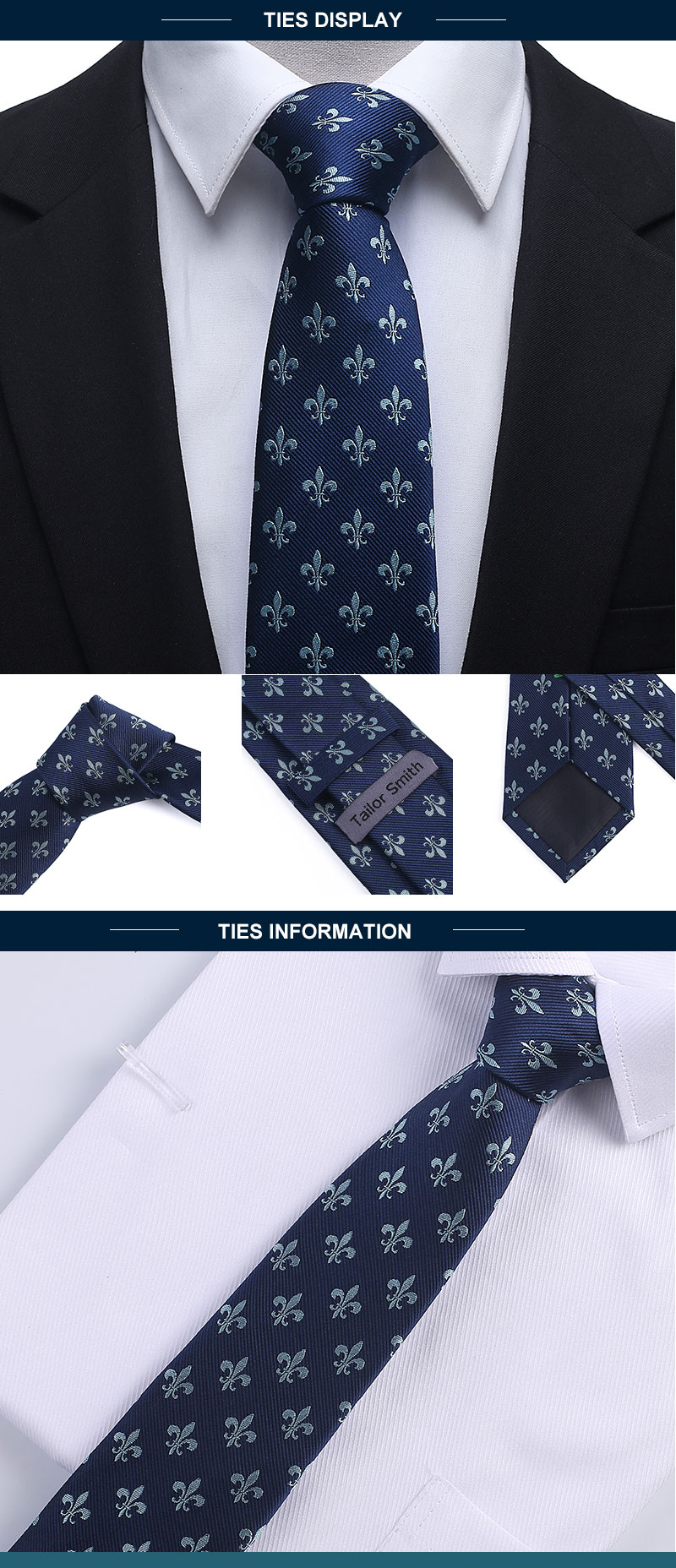 Men Kravat Cravatta Necktie Men's Vestidos Business Wedding Tie Male Dress Legame Gift Gravata Jacquard Woven for sale