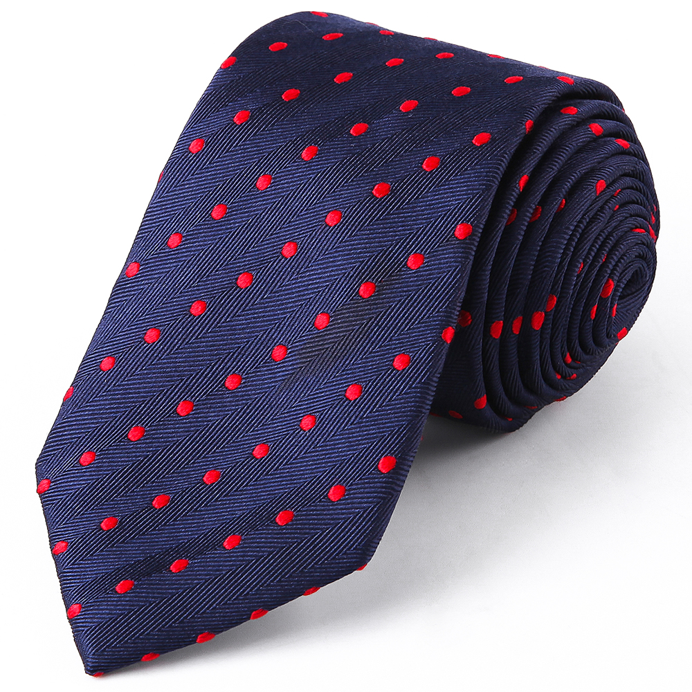 Novelty Men Business Formal Wedding Tie 8cm Polka Dot Necktie Fashion Shirt Dress Accessories for sale