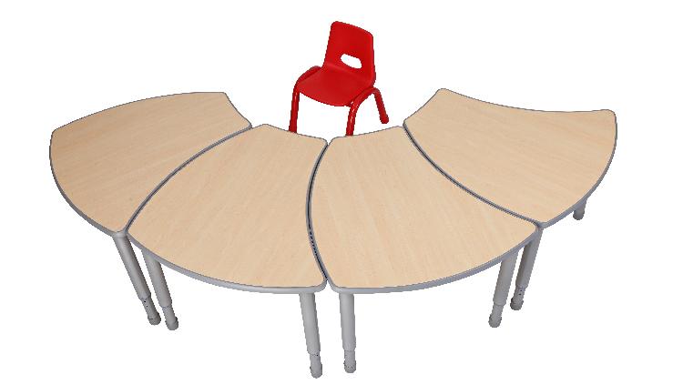 L.DOCTOR wooden top kids table daycare furniture for kindergarten for sale