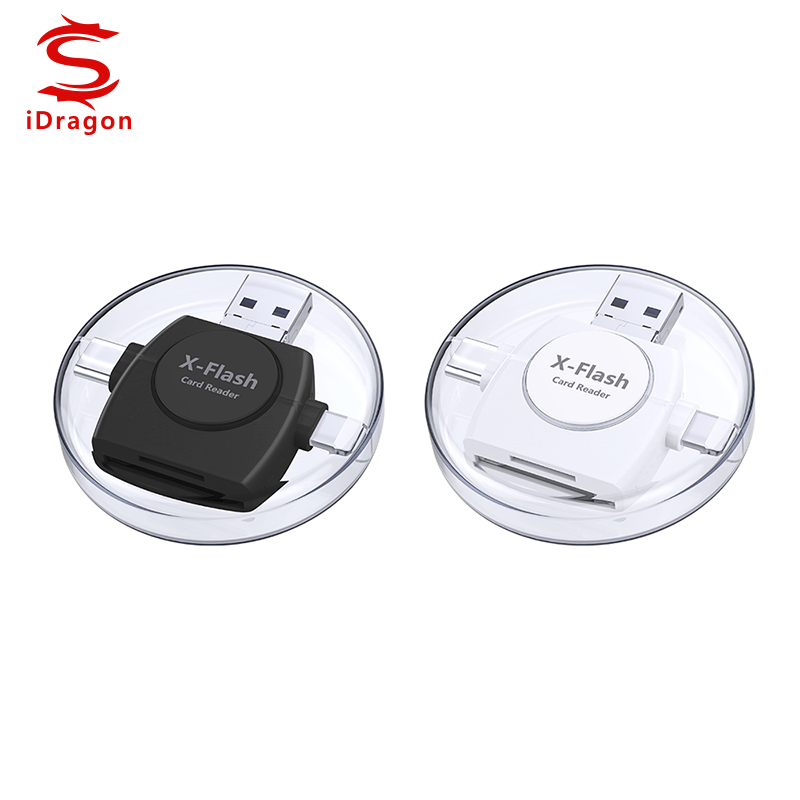 SD/TF OTG Card Reader USB 3.0 Memory Mini Cardreader for iPhone SALE