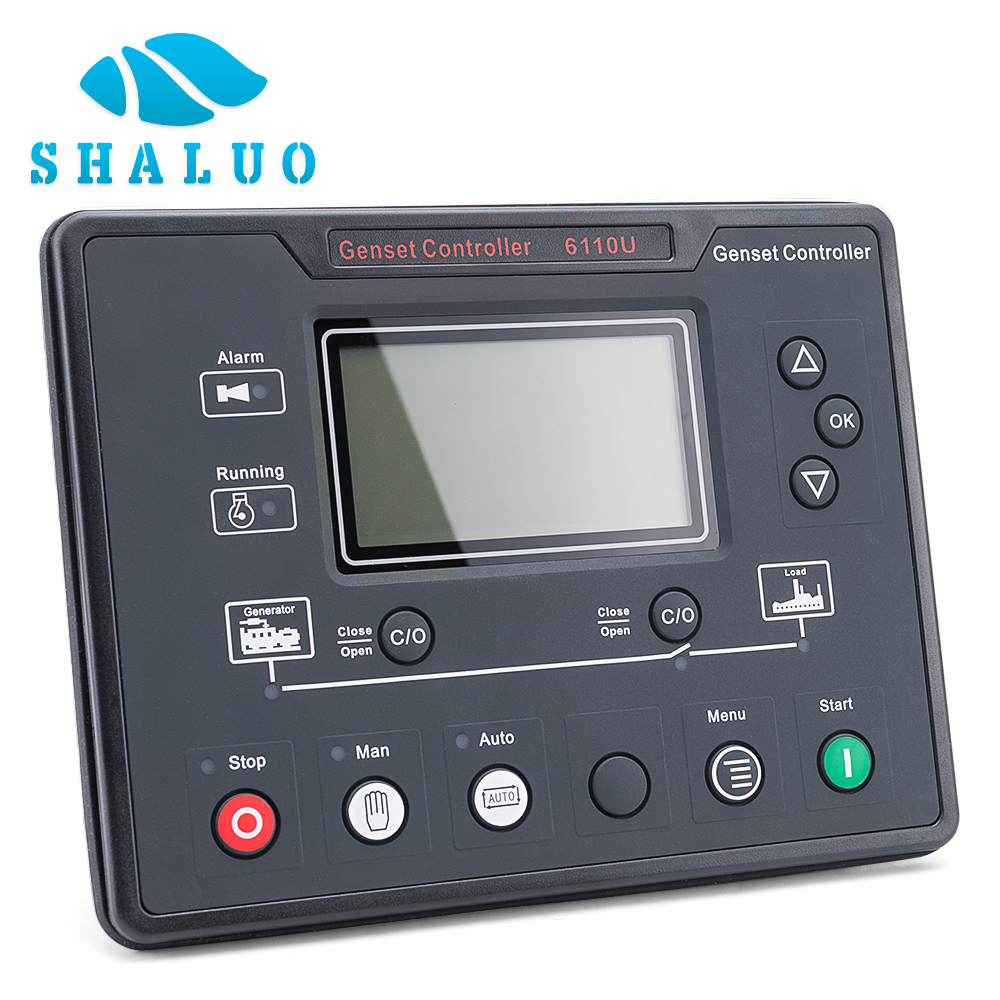 Generator Controller DSE6110 auto start diesel genset control panel charge remote alternator controller circuit electric board for sell