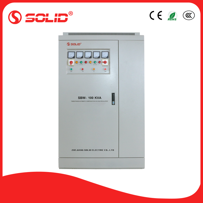 Solid electric 100kva servo voltage stabilizer sale