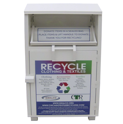 best quantity clothes recycle bin with best price for sale