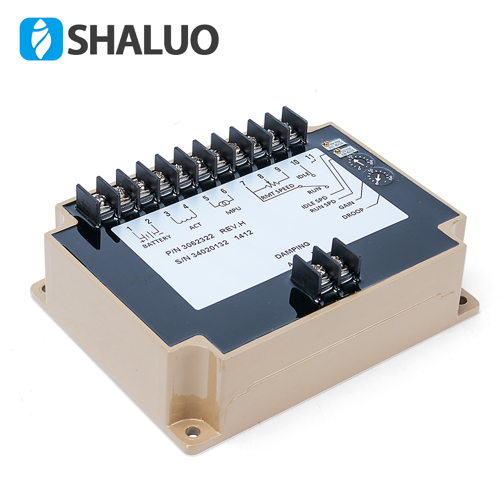 3062322 24v DC Motor Generator Speed Controller Diesel Generator Set speed controller electronic circuit board regulator for sell