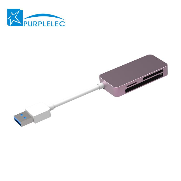 Luxury design camera memory card reader for apple computer card reader dock sale